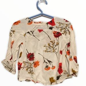 Old Navy Floral top 2T